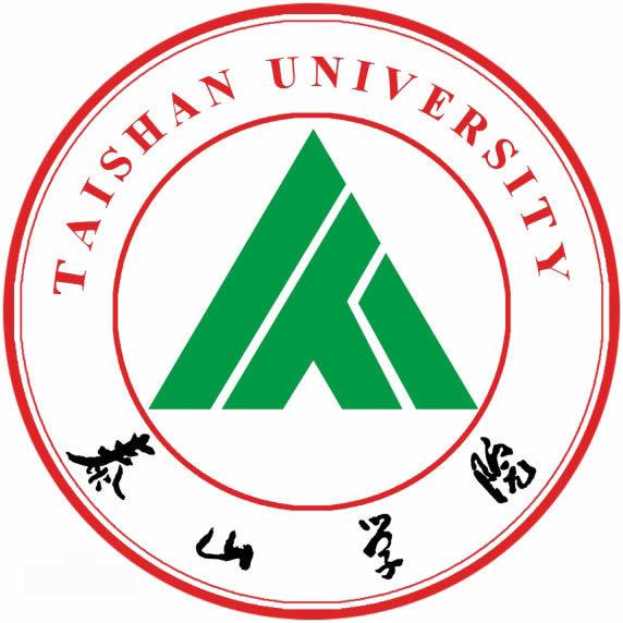 泰山学院logo